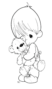 Precious Moment Coloring Pages Precious Mome Coloring Pages Precious