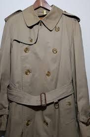 burberrys vintage men s trench coat original