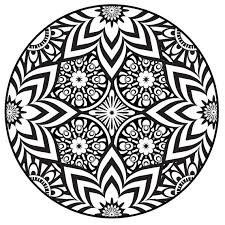 Small Picture Printable Mandala Abstract Best Picture Mandala Coloring Pages Pdf