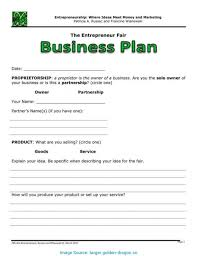 Free Business Plan Templates Word Downloadable Free Business Plan Template In Doc Microsoft Word