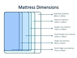 Bed Dimensions Chart Doonite Club