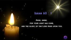 Light In The Darkness Bible Verse Bible Verse Isaiah 60 1 3