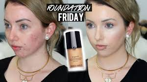 Armani Designer Foundation Review Foundation Friday Giorgio Armani Designer Lift Foundation First Impression Review Acne Pale Skin