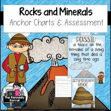 Rocks And Minerals Anchor Chart Geology Rocks And Minerals Anchor Charts And Assessment
