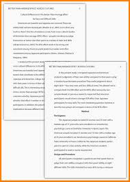 Sample Apa Paper 16 Apa Format Example The Snohomish Times