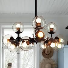 saucer pendant modern chandelier lighting