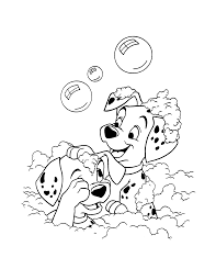 sizable 101 dalmatians coloring pages approved to print rare 11945