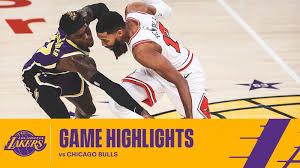 Los Angeles Lakers vs Chicago Bulls ...