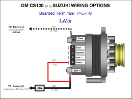 alternator charge light wiring diagram images wilbo666 toyota gm cs130cs144 alternator wiring plfs 1 wire