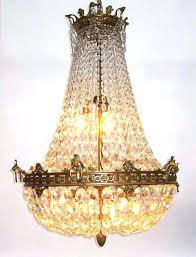 empire crystal chandelier maria style empire crystal chandelier second half of french empire crystal chandelier assembly