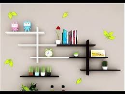 book shelf wall rack design