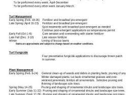 landscape maintenance proposal template landscape maintenance proposal template landscaping proposal sample