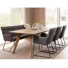 Esstisch Stühle Holz Schwarz