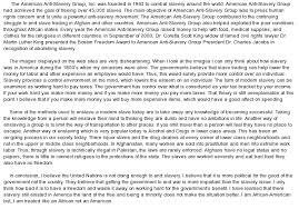 thesis statement on abolition of slavery write an essay essay on <u>abolition< u> of