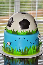 How To Decorate A Soccer Ball Cake Soccer Ball Birthday Cake Ideas birthday cake Ideas 41