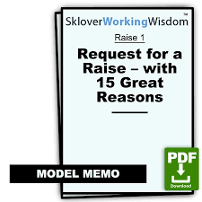 Raise Request Request For A Raise With 15 Great Reasons