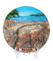 home decor plate x: colorful collectors plate masada colorful collector s plate masada large
