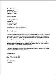 Sample Business Letter Format Template