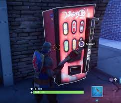 Vending Machines Locations Custom Fortnite Battle Royale Vending Machines Possible Use For Boost