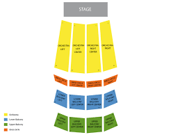 Orpheum Theatre Vancouver Seating Chart And Tickets
