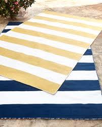 rugby stripe indoor outdoor rug 5 x 7 6