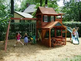 best backyard playset plans