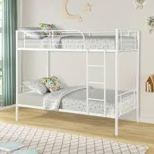 Metal - Twin - White - Kids Beds & Headboards - Kids Bedroom ...