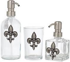 Purple Bathroom Accessories Set Silver Bathroom Accessories Set Luxury Bath Accessory Collection