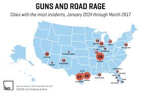 Study Names Florida Worst State For Road Rage Incidents Involving