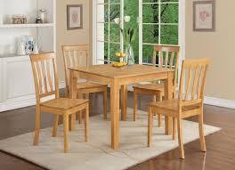 55 Oak Kitchen Table Set Dining Room Contemporary Light Oak Dining