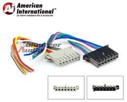 american international car oem radio wiring harness cwh633 ebay ford factory radio wiring harness dodge jeep reverse wiring harness car stereo install plug into factory radio