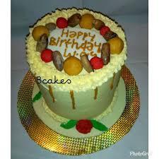 Vanilla Sponge Cake Et Fruit Cake Bcakes And Pastries