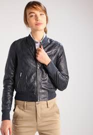 freaky nation harlem leather jacket anthra women clothing jackets lightweight dark grey freaky nation catalogo
