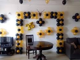 balloon decoration for friends birthday