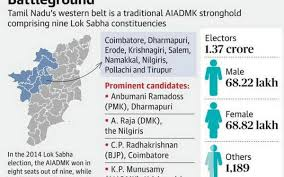 Intense Fight Expected In Aiadmks Western Bastion In Tamil Nadu