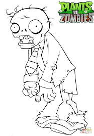 Plants Vs Zombies Coloring Pages To Print With Print Color Pages