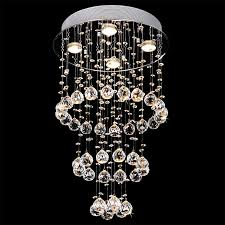 12 light waterfall chandelier polished nickel lightbox