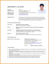 Bartenders Resume Example Cv Cover Letter Newest Format 2017