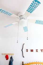 chevron pattern fan blades