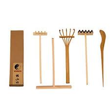 garden rakes. icnbuys professional mini zen garden rake tools set three rakes one bamboo drawing pen pushing