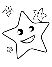 Small Picture Star Coloring Pages 2799
