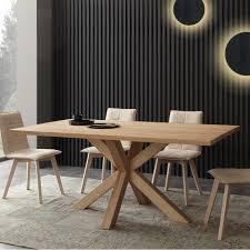 Tavolo da pranzo in legno di frassino massello icaro