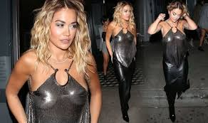 She rose to prominence in february 2012 when she featured on dj fresh's single hot right now. Rita Ora Reveals A Little Too Much As Eye Popping Top Turns See Through On Night Out Celebrity News Showbiz Tv Express Co Uk