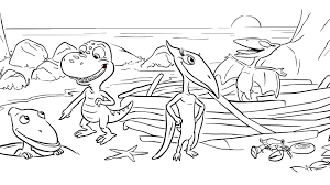 If he can easily cope, offer him something. Dinosaur Friends Coloring Page Kids Coloring Pbs Kids For Parents