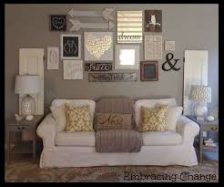 living room decor rustic farmhouse style rustic taller wall