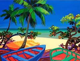 shari erickson art - Buscar con Google | Caribbean art, Island art ...