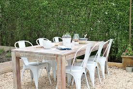 diy outdoor farmhouse table. Mesmerizing Home Design Attractive Outdoor Farmhouse Dining Table Tables In Diy