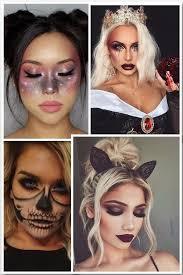 sugar skull halloween makeup half face