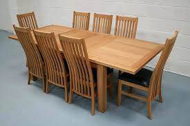 oak dining table and chairs rustic dining set in real oak extending table 4 sage chairs