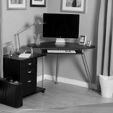 hi tech office products. black furniture interior design photo ideas small hi tech styled office workspace home computer desk image products